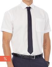 Poplin Shirt Smart Short Sleeve / Men
