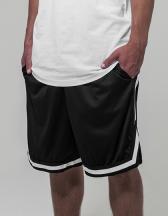 Two-tone Mesh Shorts